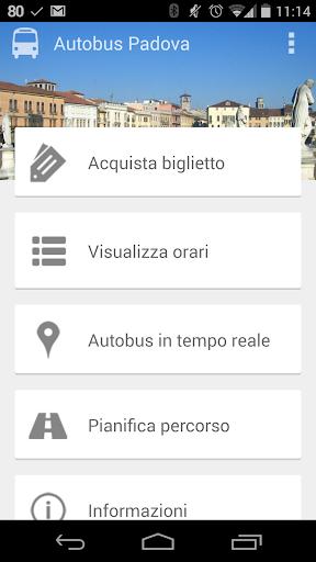 APS Orari Autobus Padova