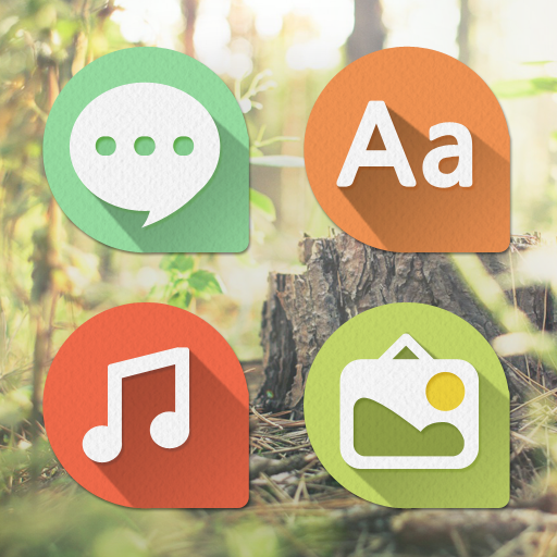Pastel Balloon Atom Iconpack 個人化 App LOGO-APP試玩