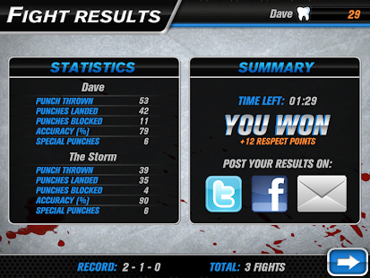 Hockey Fight Lite- screenshot thumbnail