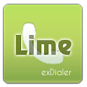 exDialer Theme - SSB Lime icon