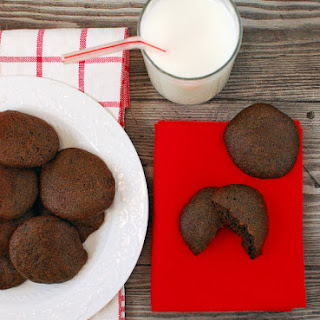 Big, Soft, Almost Fat Free Chocolate Cookies.