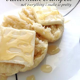 Buttermilk Crumpets