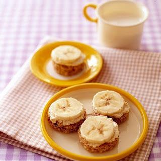 Banana Tahini Bites