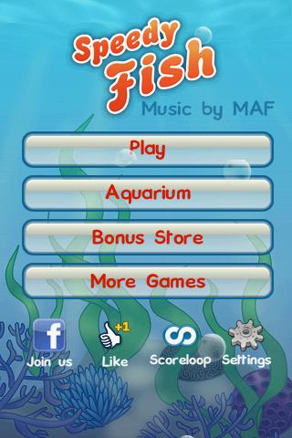 Speedy Fish - screenshot