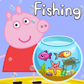 Peppy Pig Fishing