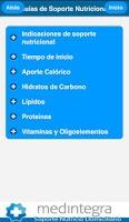 Screenshot of Guías de Soporte Nutricional