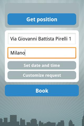 taxicab  radiotaxi 8585 Milano - screenshot
