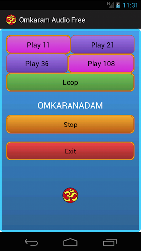 Omkaram Audio free Meditation