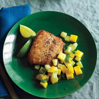 Fish with Mango Relish.
