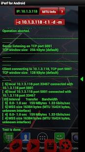 Iperf ext- screenshot thumbnail