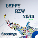 Happy New Year Greeting Cards icon
