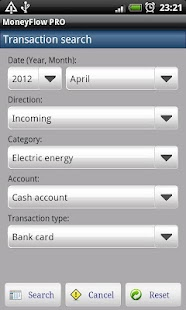 MoneyFlow Expense Manager Free - screenshot thumbnail
