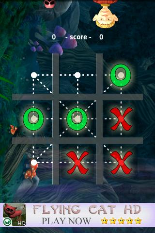 Tic Tac Toe Classic HD 3 in 1 - screenshot