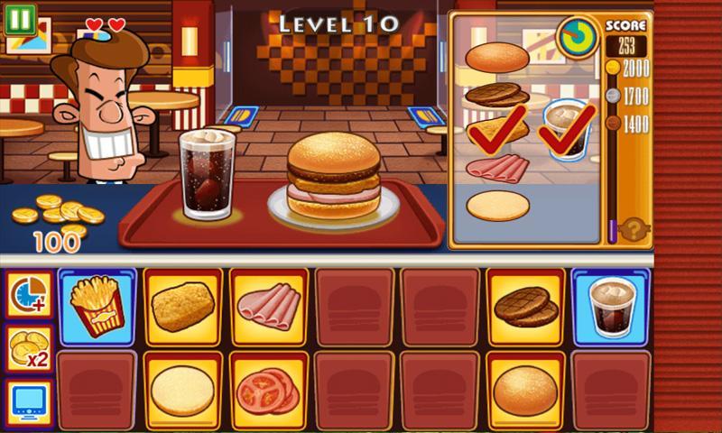 burger burger games