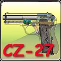 CZ-27 pistol explained icon