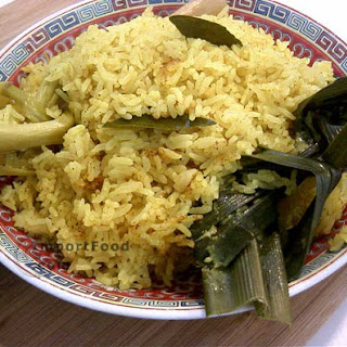 Festive Yellow Rice, 'Nasi Kuning' Recipe