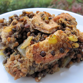 Vegan Thanksgiving Casserole.