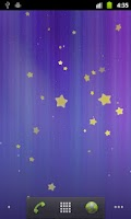 Screenshot of Stars Live Wallpaper