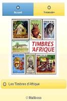 Screenshot of Timbres d'Afrique