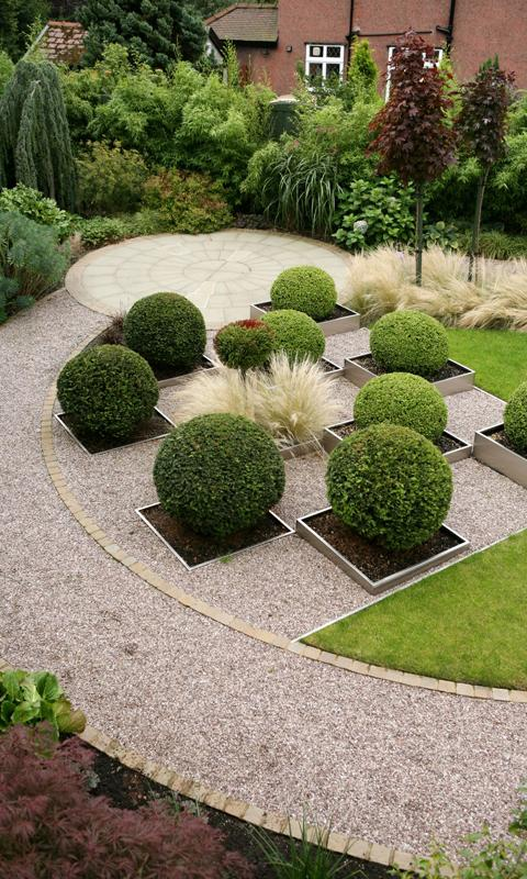 Gardening Design Ideas this garden design is stunning and simple the gorgeous green seating area the beautiful Garden Design Ideas Screenshot