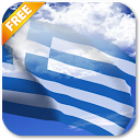 3D Greece Flag mobile app icon