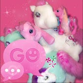 GO SMS PRO Theme Pink Pony Buy
