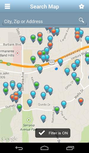Home Search California App