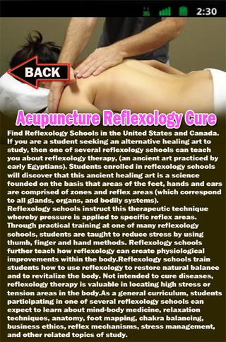 Acupuncture Reflexology Cure