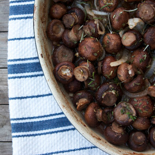 Roasted Mushrooms, Truffled and Herbed.