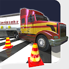 Big Rig Truck Parking Roller icon