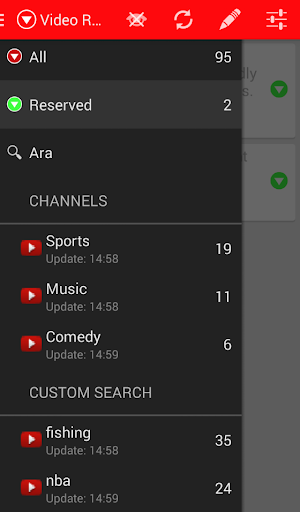Video Reserve