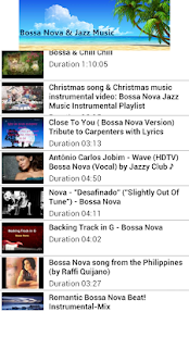 Bossa Nova Jazz Music Relaxing - screenshot thumbnail
