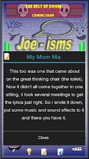 Joeisms- screenshot thumbnail