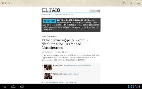 Spanish Newspapers - screenshot thumbnail