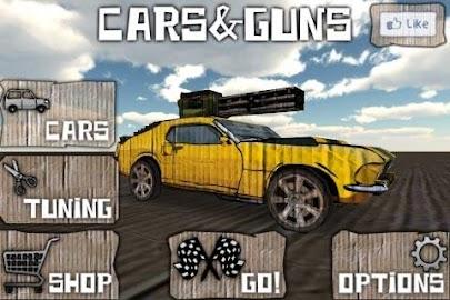 Cars And Guns 3D FREE Screenshot 3