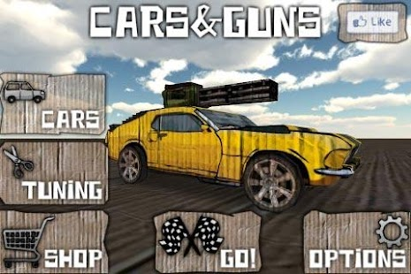 Cars And Guns 3D FREE Screenshot 3