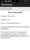 Screenshot of Marienbad