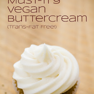 Must-Try Vegan Frosting (Trans-Fat Free).