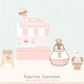 Pepe-icecream Go sms theme