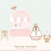 Pepe-icecream Go sms theme