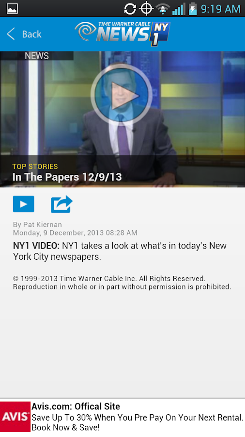 TWC News - screenshot