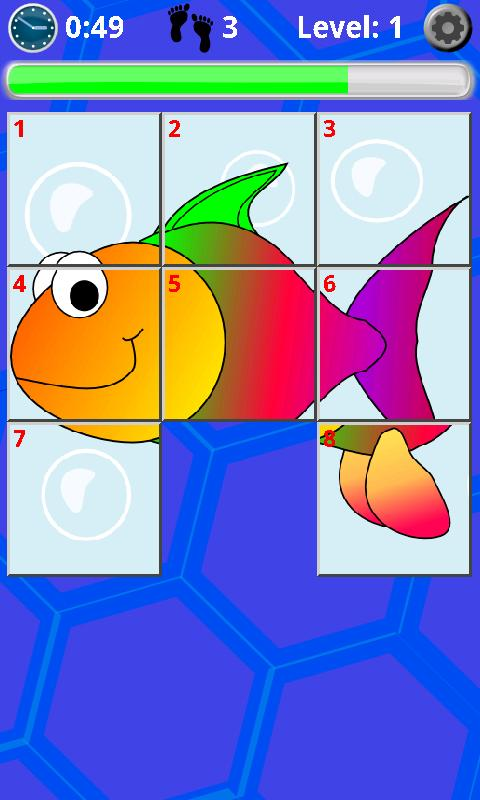 Kids Slide Puzzle- screenshot