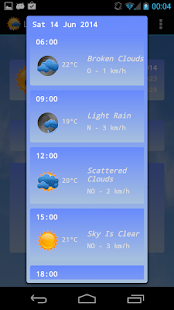 Live Weather Plus - screenshot thumbnail