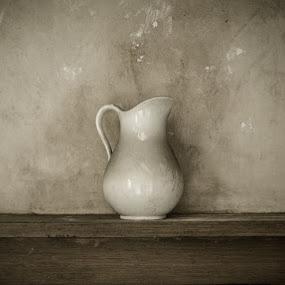 little whit jug by Karen Shivas - Digital Art Things