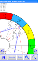 Screenshot of Aquarius2Go Astrology