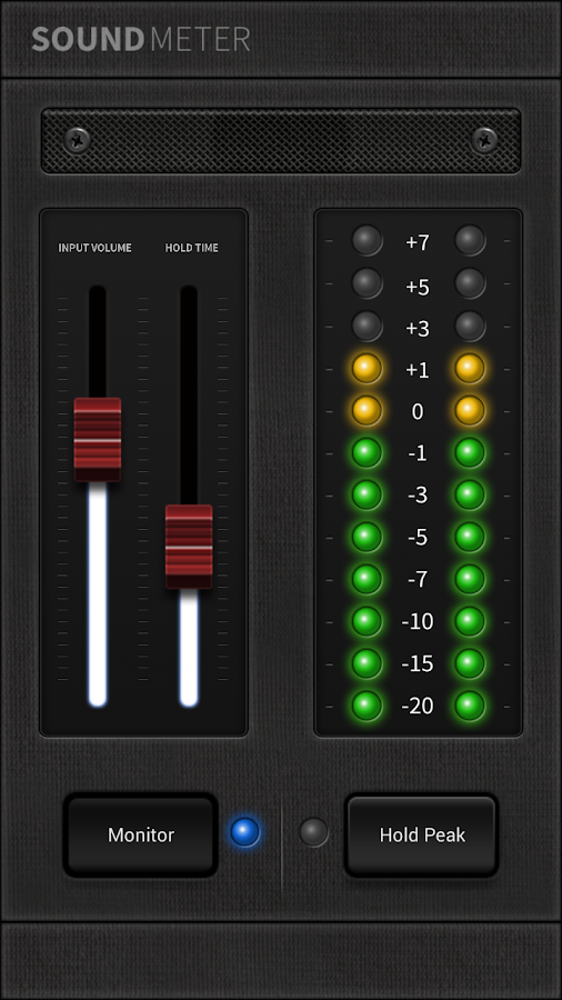 led sound meter android apps on google play. Black Bedroom Furniture Sets. Home Design Ideas