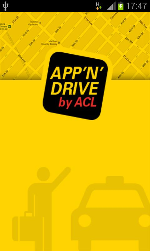 APP'N'DRIVE - screenshot
