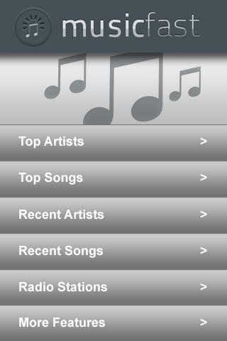 Music Fast Free Version - screenshot