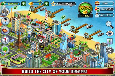 City Island Builder Tycoon MOD (Unlimited Money) 1
