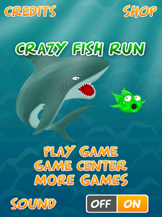 Crazy Fish Run - Shark Escape